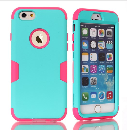 "Чехол для iPhone 6 4.7""/For iPhone 6 Plus 5.5/For iPod Touch 5/6 25 цветов"